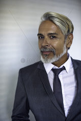Man wearing suit  portrait