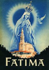 Fatima  katholischer Marienwallfahrtsort  Portugal  1953