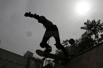GREECE-ATHENS-YOUNG REFUGEES-INTEGRATION-SKATEBOARDING