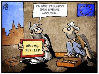 Europaeischer Sparkurs