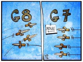Wenn aus dem G8- ein G7-Gipfel wird