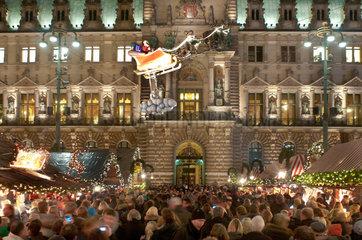 Weihnachtsstimmung in Hamburg