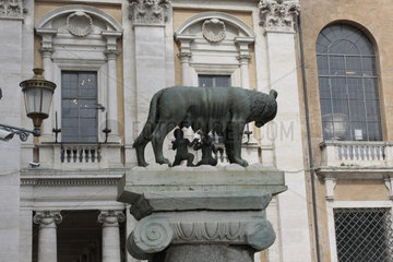 Die Kapitolinische Woelfin in Rom