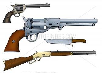 Serie Wilder Westen - Revolvermodelle