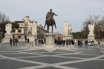 Mark Aurel Reiterstandbild in Rom