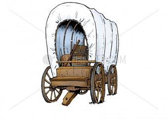 Serie Wilder Westen - Planwagen