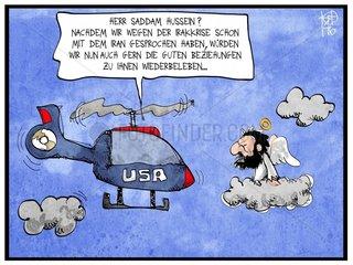 Beziehungen der USA zum Irak