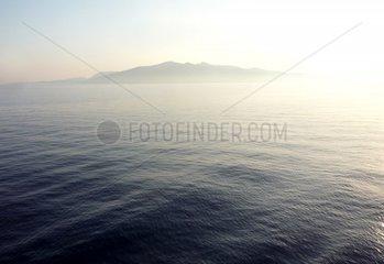 Griechenland _g_is Insel Kea Dunst