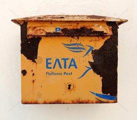 Briefkasten verrostet Griechenland