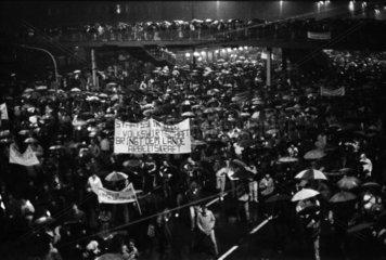 Montagsdemo in Leipzig 06.11.1989