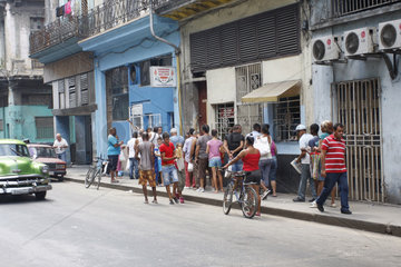 Baeckerei in Havanna Centro