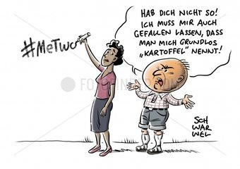 Hashtag #MeTwo : Umgang mit Rassismus
