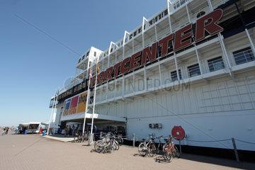 Puttgarden  Deutschland  das Portcenter am Hafen von Puttgarden auf Fehmarn
