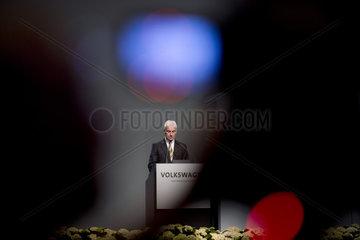Matthias Mueller  VW Hauptversammlung