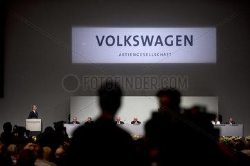 VW Hauptversammlung