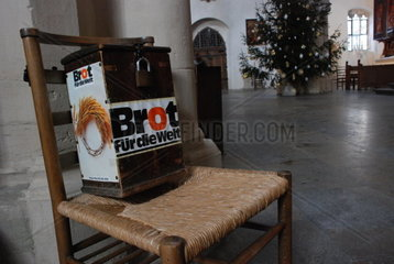 Brot fuer die Welt Collekte zur Weihnachtszeit