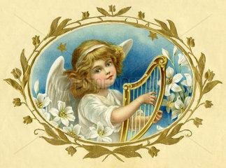 Engelchen spielt Harfe  1905