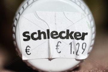 Schlecker-Logo auf einem Drehverschluss