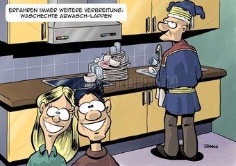 Abwasch-Lappen