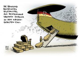 Hilfe fuer Nordirak : Ruestungslieferungen keine Waffen