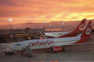 BER Flughafen Werbung