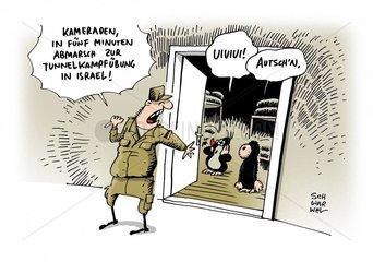 Gaza-Krise Deutsche Soldaten sollen in Israel Tunnelkampf ueben