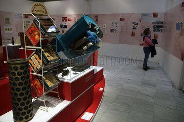 GREECE-ATHENS-EXHIBITION-INDUSTRIAL HISTORY