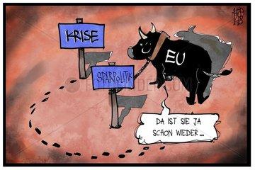 Rueckkehr der Euro-Krise