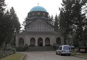 Berlin  Deutschland  Kapelle des II. Staedtischen Friedhof Eythstrasse