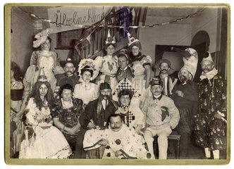 Fastnachtsball der Casinogesellschaft  Zwickau  1907