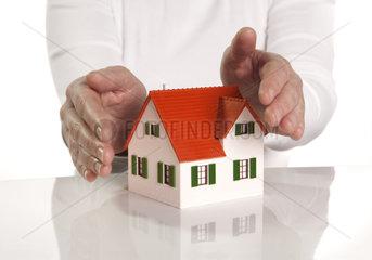 Schutz fuer die Immobilie