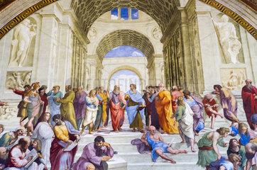 Die Schule von Athen  Stanzen des Raffael