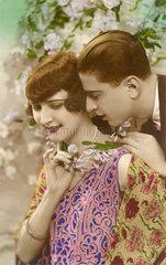 Liebespaar  Frankreich  1927