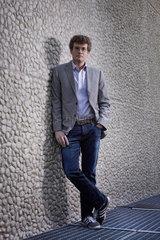 Berlin  Deutschland  Schriftsteller John Green  im Portrait