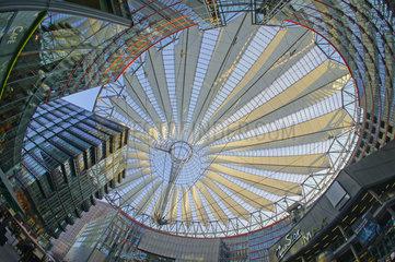 Berlin  Deutschland  Sony-Center