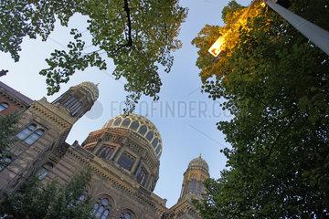 Deutschland  Berlin  juedische Synagoge