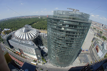 Deutschland  Berlin  Blick ueber den Potsdamer Platz