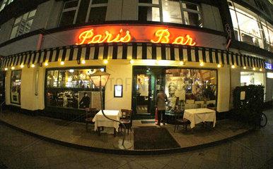 Berlin  Deutschland  Paris Bar