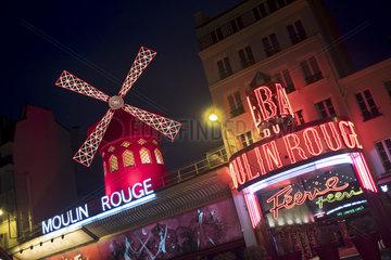 Le Moulin Rouge  France