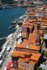 Porto  Portugal  Stadtlandschaft von Porto