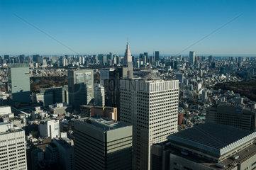 Tokio  Japan  Stadtpanorama von Tokio