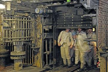 Deutschland  Nordrhein-Westfalen - Bergwerk Prosper Haniel Schacht 10