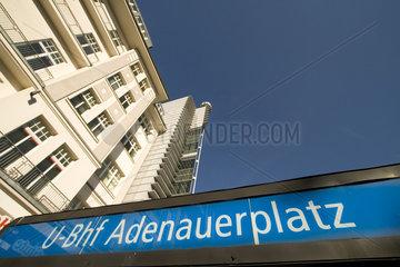 U-Bahnhof Adenauerplatz