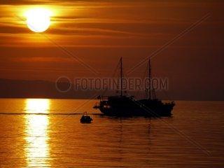 Dalmatinischer Sonnenuntergang