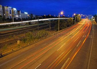 Deutschland  Berlin  Stadtautobahn am Funkturm  Internationales Kongresszentrum