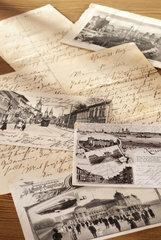 Alte Briefe und Postkarten