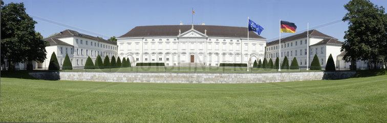 Deutschland  Berlin  Schloss Bellevue  Spreeweg 1  Sitz des Bundespraesidenten