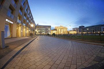 Berlin  Deutschland  Brandenburger Tor  Pariser Platz