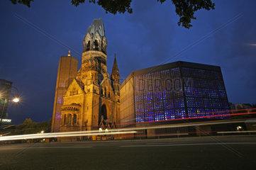 Deutschland  Berlin  Kaiser-Wilhelm-Gedaechtnsikirche am Breitscheidplatz