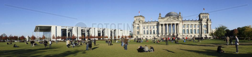 Deutschland  Berlin  Der Reichstag  Das Reichstagsgebaeude